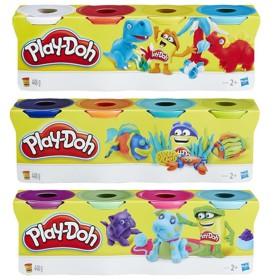 Hasbro Play-Doh Πλαστελίνες σε 4 Χρώματα 448g