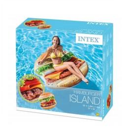 Intex Φουσκωτό Στρώμα Hamburger Island 58780
